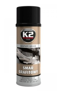 K2 SMAR GRAFITOWY spray 400 ml