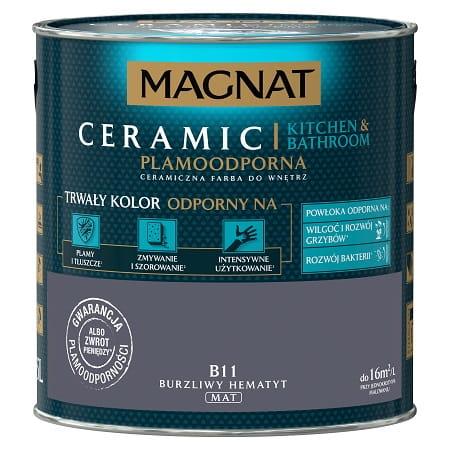 Magnat Ceramic Kuchnia łazienka Burzliwy Hematyt 25l B11